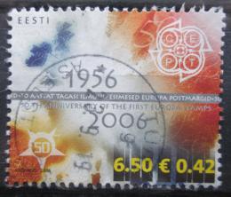 Poštovní známka Estonsko 2006 Výroèí Evropa CEPT Mi# 538