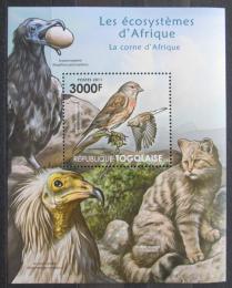 Poštovní známka Togo 2011 Fauna jihoafrického mysu Mi# Block 655 Kat 12€