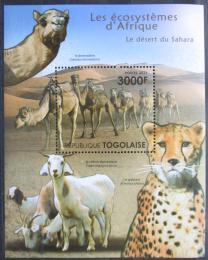 Poštovní známka Togo 2011 Fauna Sahary Mi# Block 653 Kat 12€