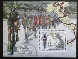 Poštovní známka Guinea-Bissau 2009 Cyklistika Mi# Block 682 Kat 14€