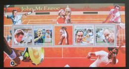 Poštovní známky Guinea 2009 Tenisti, John McEnroe Mi# 6669-72 Kat 13€