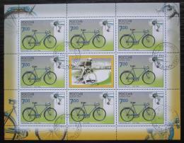 Poštovní známky Rusko 2008 Cyklistika Mi# 1520 Bogen Kat 10€