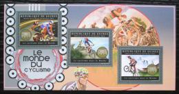 Poštovní známky Guinea 2012 Cyklistika Mi# 9507-09 Kat 18€