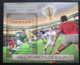 Poštovní známka Guinea 2012 Rugby Mi# Block 2116 Kat 16€