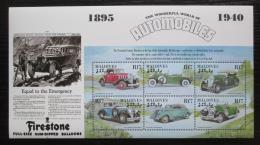 Poštovní známky Maledivy 2000 Klasické automobily Mi# 3659-64 Kat 10€