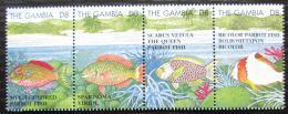 Poštovní známky Gambie 1995 Ryby Mi# 2078-81 Kat 13€