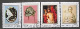 Poštovní známky Rusko 2002 Umìní z Ermitáže Mi# 961-64