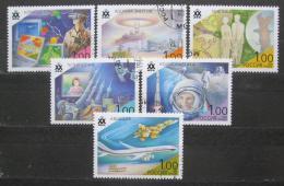 Poštovní známky Rusko 1998 Úspìchy 20. století Mi# 690-95