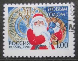 Poštovní známka Rusko 1998 Nový rok Mi# 697