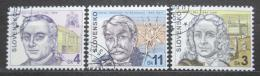 Poštovní známky Slovensko 1999 Osobnosti Mi# 330-32
