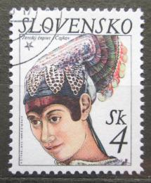 Poštovní známka Slovensko 1999 Ženský èepec, Èajkov Mi# 333
