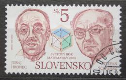 Poštovní známka Slovensko 2000 Mezinárodní den matematiky Mi# 365