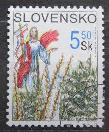 Poštovní známka Slovensko 2002 Velikonoce Mi# 418