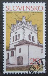 Poštovní známka Slovensko 2006 Zvonice, Podolínec Mi# 536