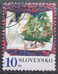 Poštovní známka Slovensko 2007 Vánoce Mi# 570