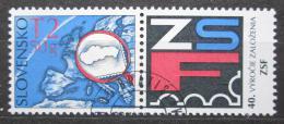 Poštovní známka Slovensko 2009 Svaz filatelistù, 40. výroèí Mi# 613