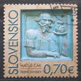 Poštovní známka Slovensko 2010 Matúš Èák Mi# 633
