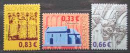 Poštovní známky Slovensko 2009 Kulturní dìdictví Mi# 605-07