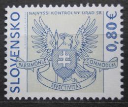 Poštovní známka Slovensko 2009 Nejvyšší kontrolní úøad Mi# 614