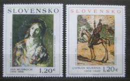 Poštovní známky Slovensko 2009 Umìní Mi# 625-26