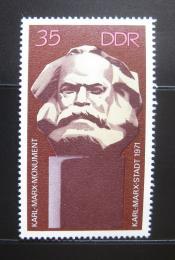 Poštovní známka DDR 1971 Památník Karl Marx Mi# 1706