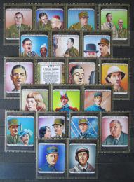Poštovní známky Umm al-Kuvajn 1972 Charles de Gaulle Mi# 1562-81 Kat 14€