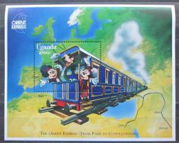Poštovní známka Uganda 1996 Disney postavièky Mi# Block 252 Kat 9€