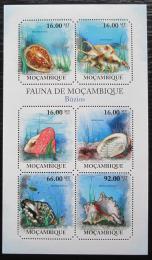 Poštovní známky Mosambik 2011 Mušle Mi# 4840-45 Kat 12€