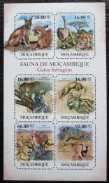 Poštovní známky Mosambik 2011 Koèkovité šelmy Mi# 5015-20 Kat 12€