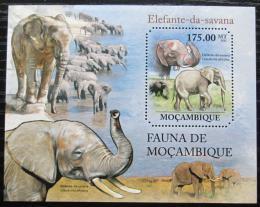 Poštovní známka Mosambik 2011 Slon africký Mi# Block 515 Kat 10€