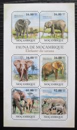Poštovní známky Mosambik 2011 Slon africký Mi# 4987-92 Kat 12€