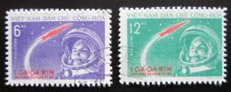 Poštovní známky Vietnam 1961 Jurij Gagarin Mi# 166-67