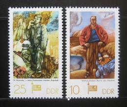 Poštovní známky DDR 1977 Umìní Mi# 2247-48