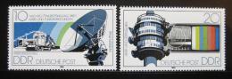 Poštovní známky DDR 1980 Pøijímaèe Nìmecké pošty Mi# 2490-91