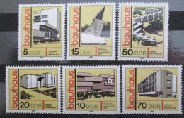 Poštovní známky DDR 1980 Bauhaus Mi# 2508-13