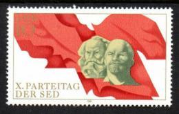 Poštovní známka DDR 1981 V. I. Lenin a Karl Marx Mi# 2582