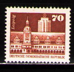 Poštovní známka DDR 1981 Výstavba v DDR, Lipsko Mi# 2602