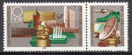 Poštovní známka DDR 1982 Karl-Marx-Stadt Mi# 2732