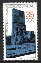 Poštovní známka DDR 1982 Váleèný památník Mi# 2735