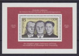 Poštovní známka DDR 1983 Osobnosti Mi# Block 70