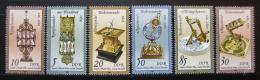 Poštovní známky DDR 1983 Sluneèní hodiny Mi# 2796-2801