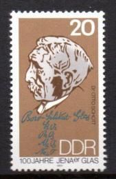 Poštovní známka DDR 1984 Otto Schott Mi# 2848