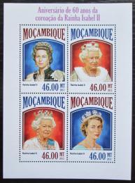Poštovní známky Mosambik 2013 Královna Alžbìta II. Mi# 7032-35 Kat 11€