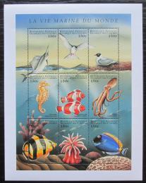 Poštovní známky Komory 1998 Moøská fauna Mi# 1237-45