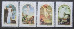Poštovní známky Tonga 2014 Velikonoce, umìní Mi# 1965-68 Kat 22€