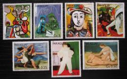Poštovní známky Paraguay 1981 Umìní, Pablo Picasso Mi# 3436-42 Kat 6.50€