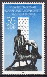 Poštovní známka DDR 1986 Váleèný památník Mi# 3051