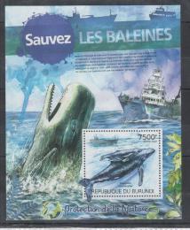 Poštovní známka Burundi 2012 Vorvaò obrovský Mi# Block 245 Kat 9€
