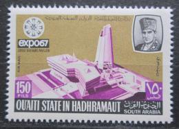 Poštovní známka Aden Qu'aiti 1967 Svìtová výstava EXPO Montreal Mi# 138 Kat 3.60€