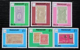 Poštovní známky Paraguay 1990 LOH Barcelona s kupónem Mi# 4445-49 Kat 17€